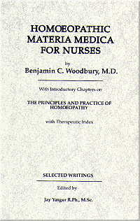 Homoeopathic Materia Medica for Nurses