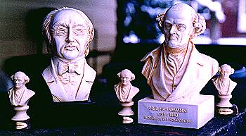 Homeopathic Statues - Boenninghausen and Hahnemann
